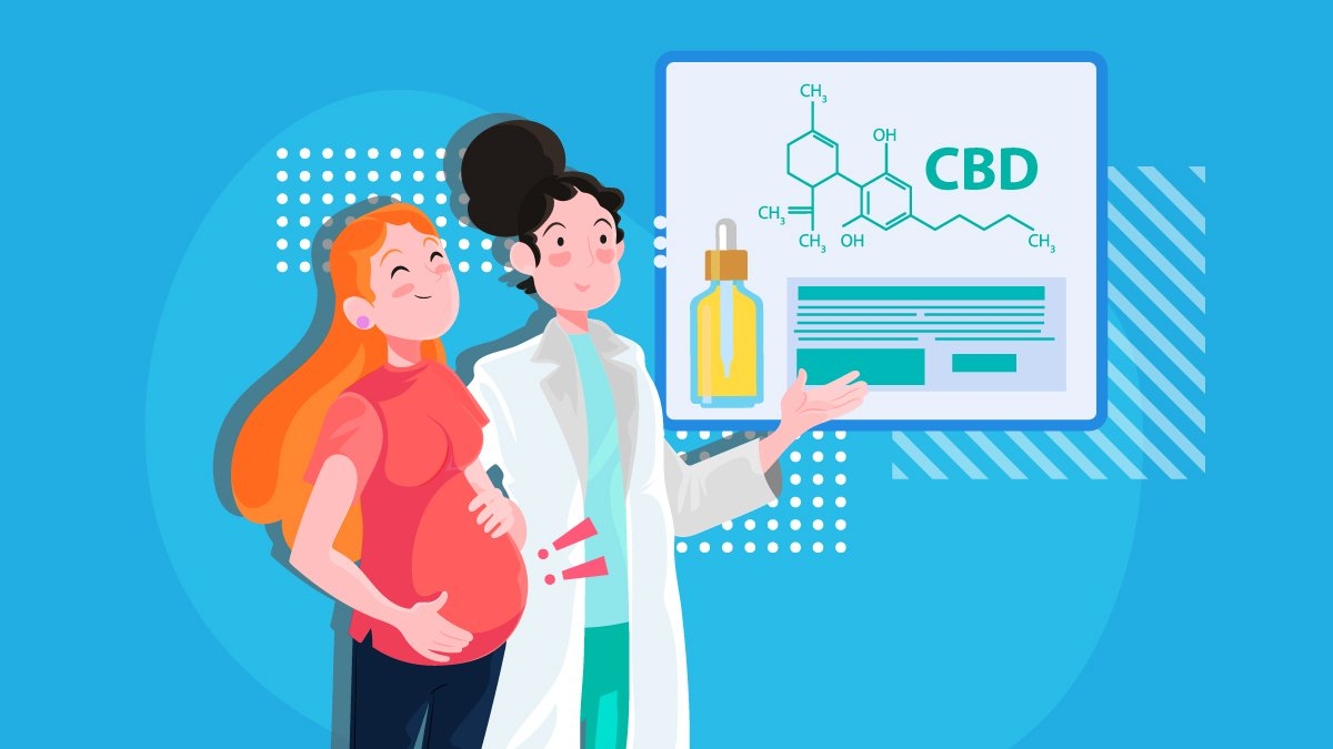 Doctor Explaining About CBD to the Pregnant Woman