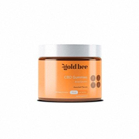 Gold Bee CBD Gummies bottle