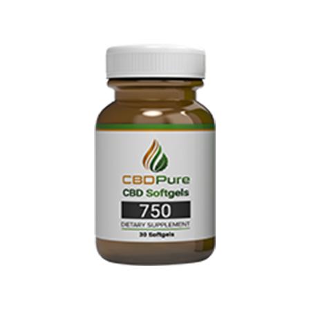 CBDPure Softgel Capsules product