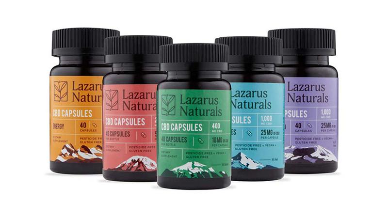 Lazarus Naturals Capsules Product