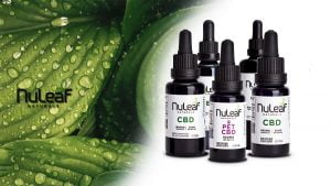 Nuleaf Naturals CBD oils products line up
