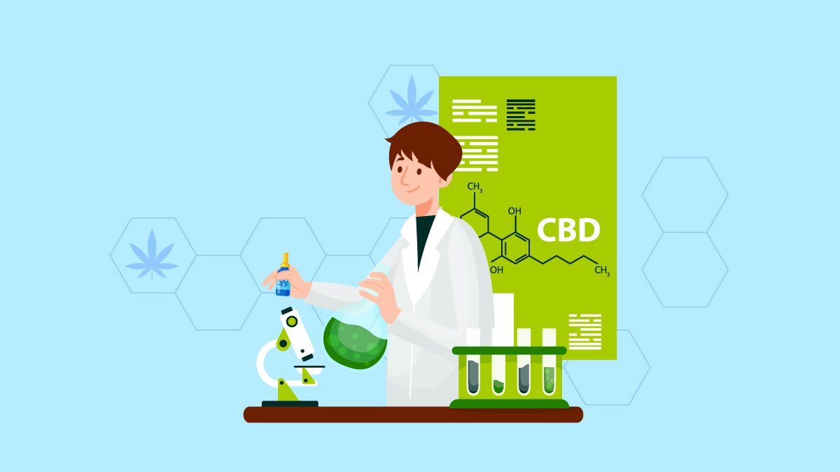 Experiment Setup of CBD Oil in the Lab