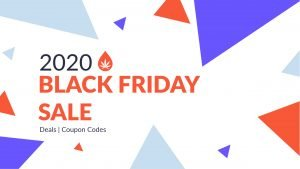 2020 back friday banner on withe background with multicolor rectangle shapes