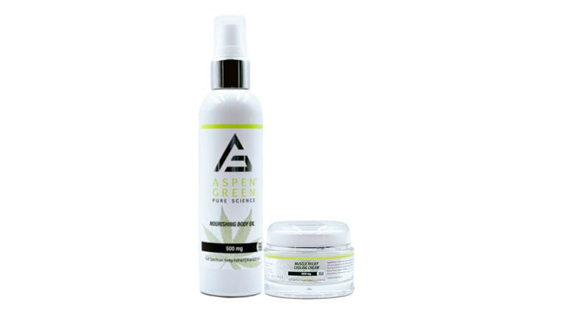 Aspen Green topical products