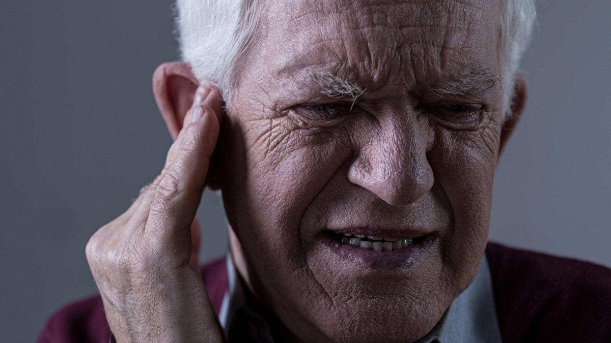 A Man Having Tinnitus