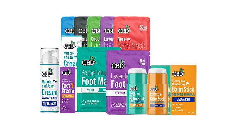 CBDfx topical products