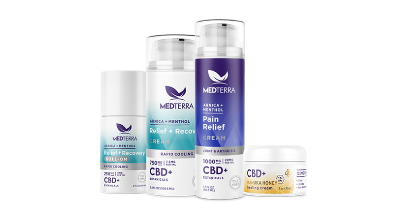 Medterra topical products