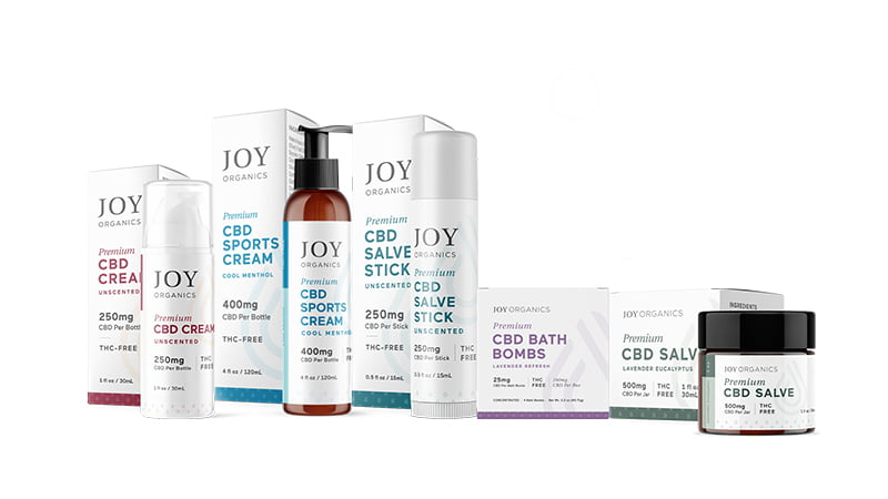 Joy Organic topical products
