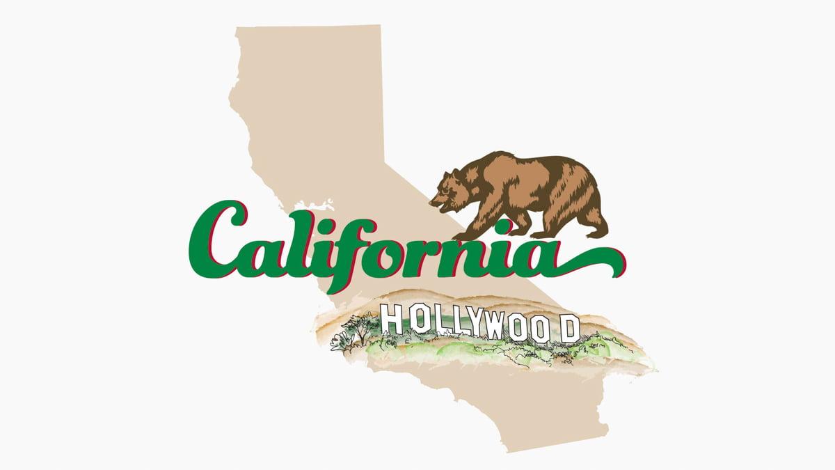 Illustration of California State