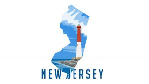 Illustration of New Jersey State