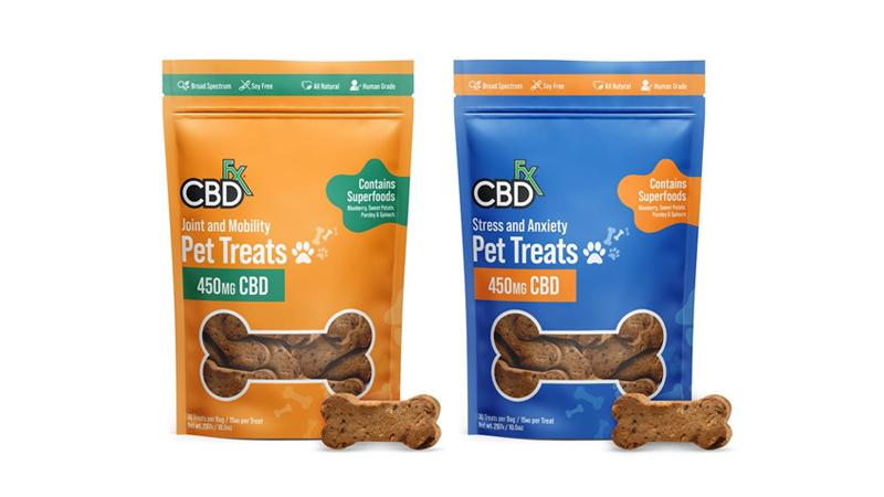 CBDfx Pet Treat Products