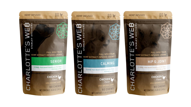 Charlotte's Web Pet Treat Product
