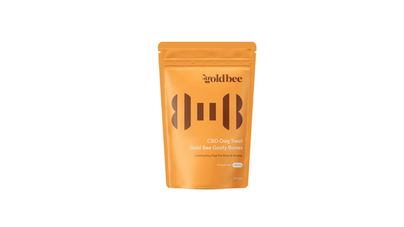 Gold Bee Goofy Bone CBD Dog Treats