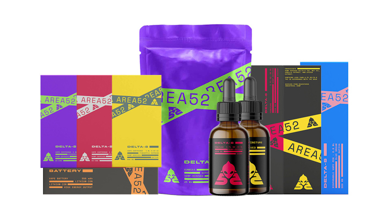 image of Area52 Delta8 Products