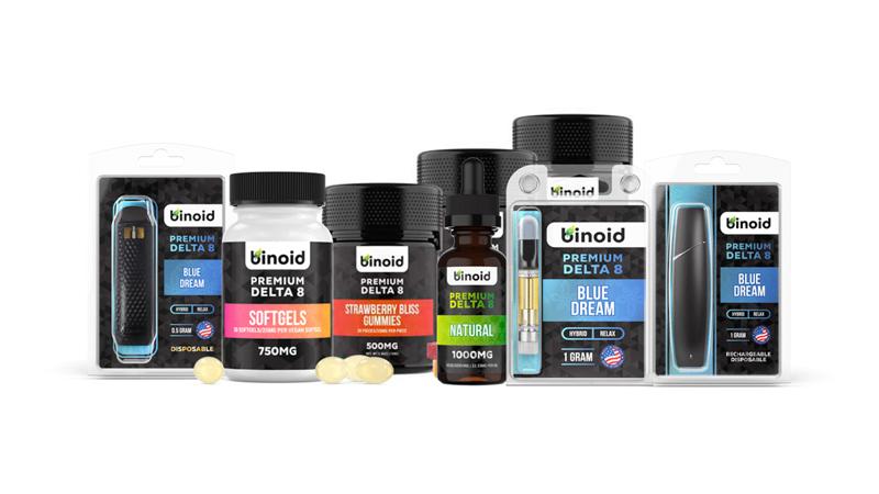 Binoid product image with white background