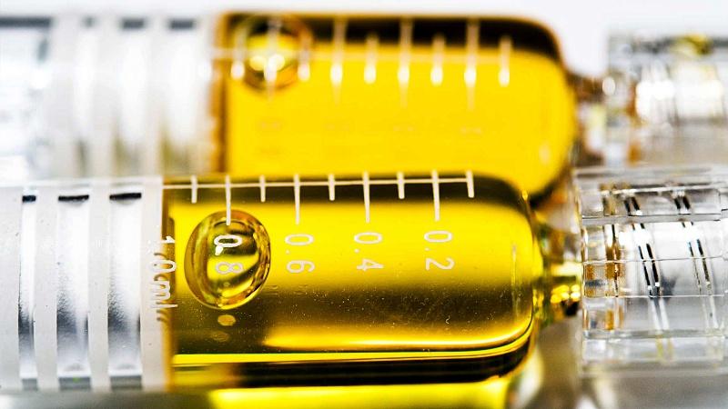 close-up image of Delta 8 carts