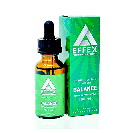 image of DeltaEffex Tincture product on a white background