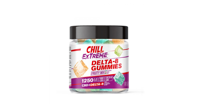 image of Diamond Chill Gummies on a white background
